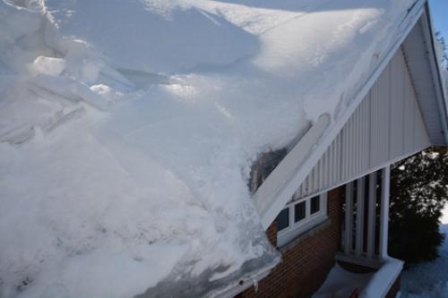 Les barrages de glace
