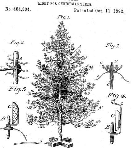 Jeu de lumières de Noël au gaz de H.W. Diek